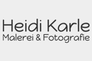 Logo Heidi Karle - Malerei & Fotografie