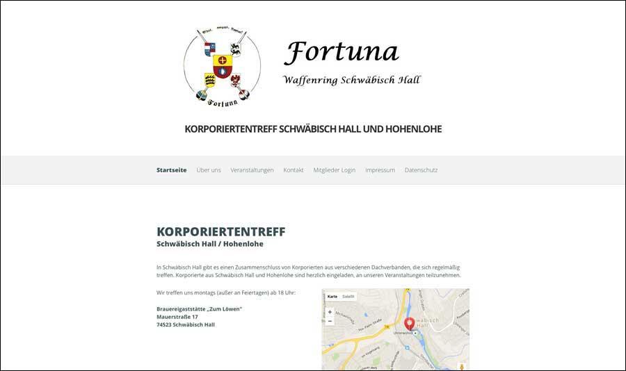 Korporiertentreff Fortuna WR Schwäbisch Hall