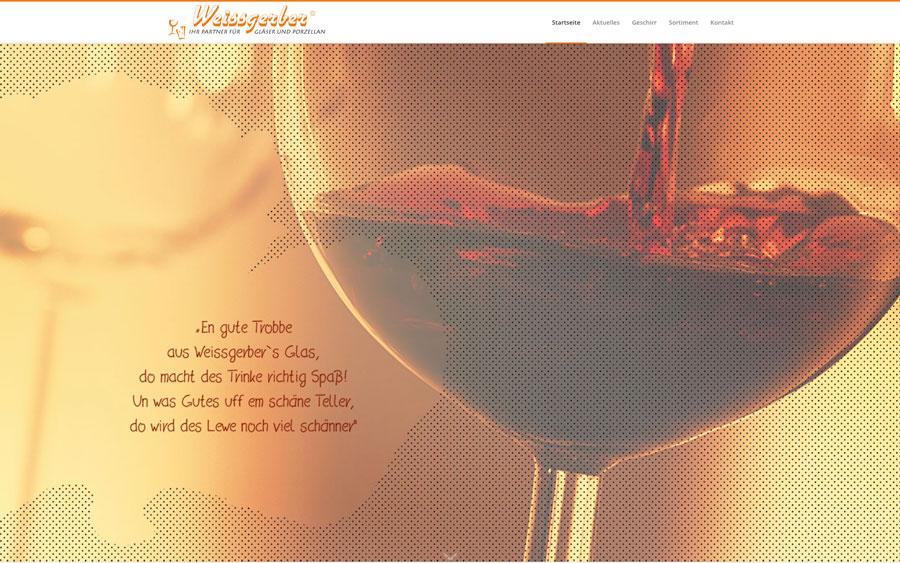Weissgerber – Gläser
