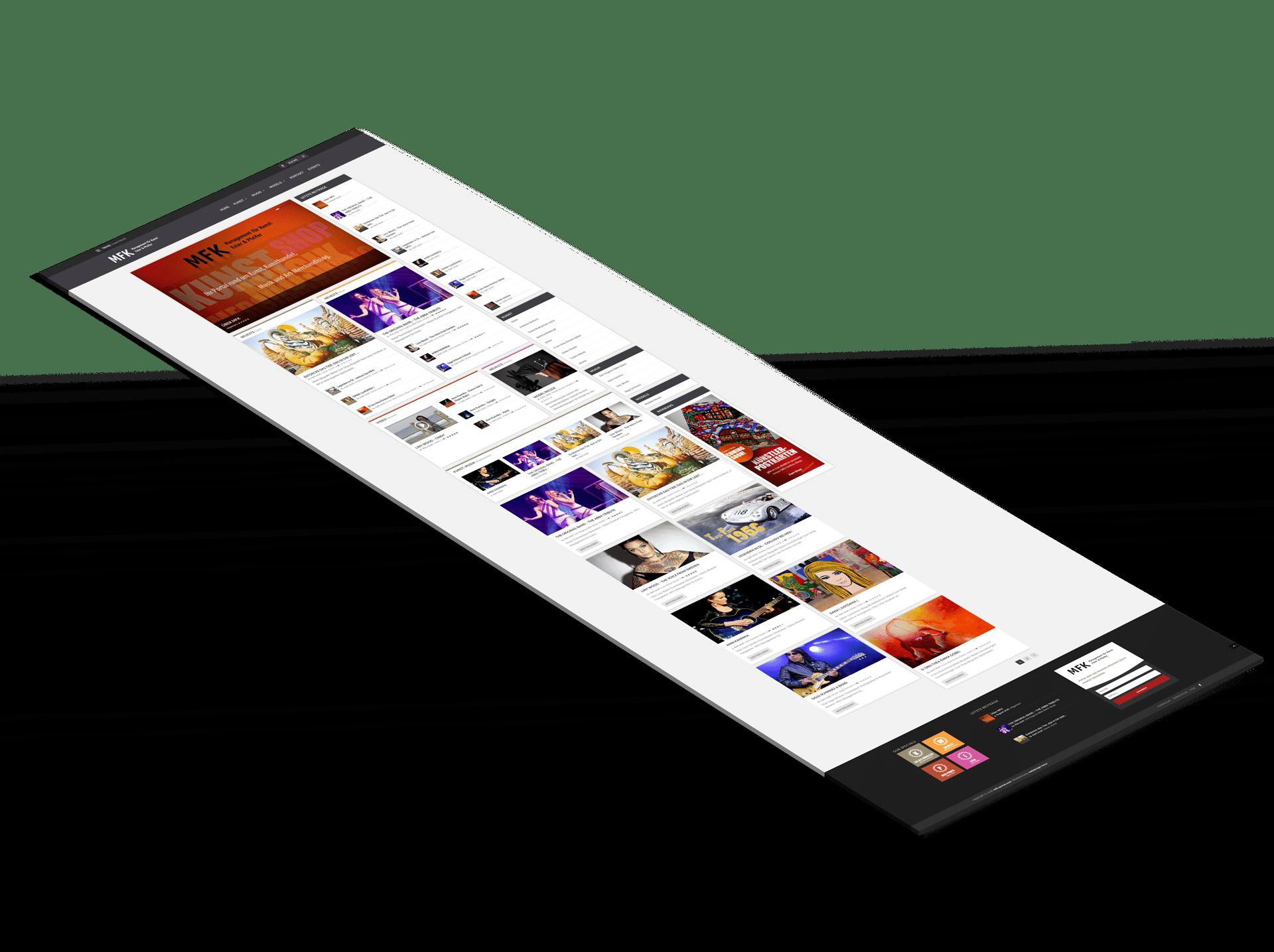 MFK-Webseite