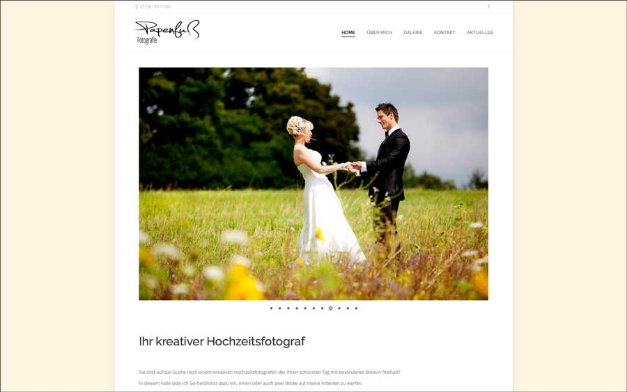 Papenfuß Fotografie – Ihr kreativer Hochzeitsfotograf