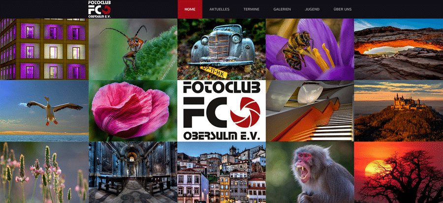 Webseite FCO