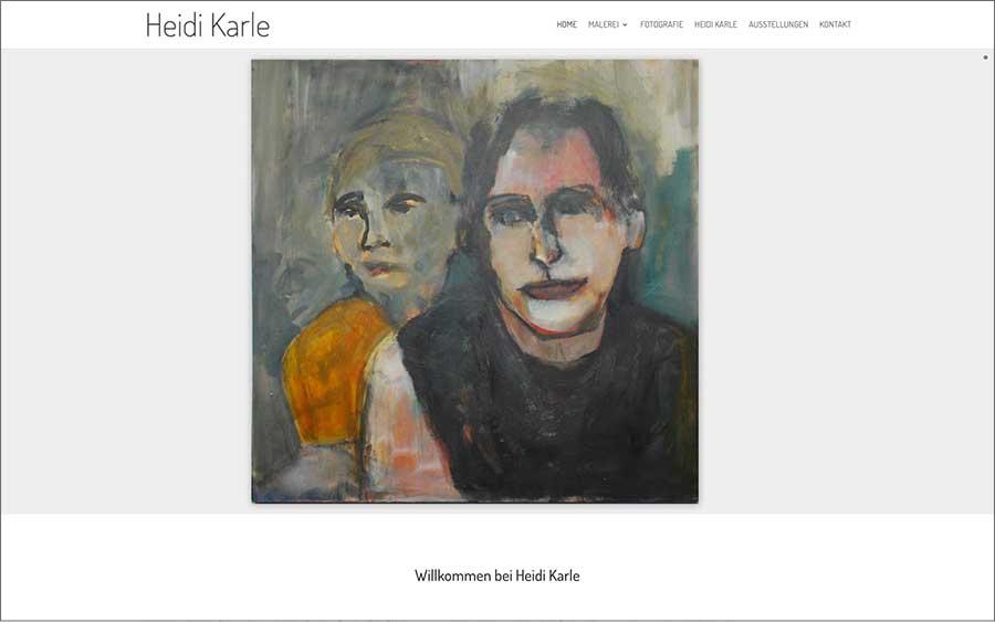 Heidi Karle – Malerei & Fotografie