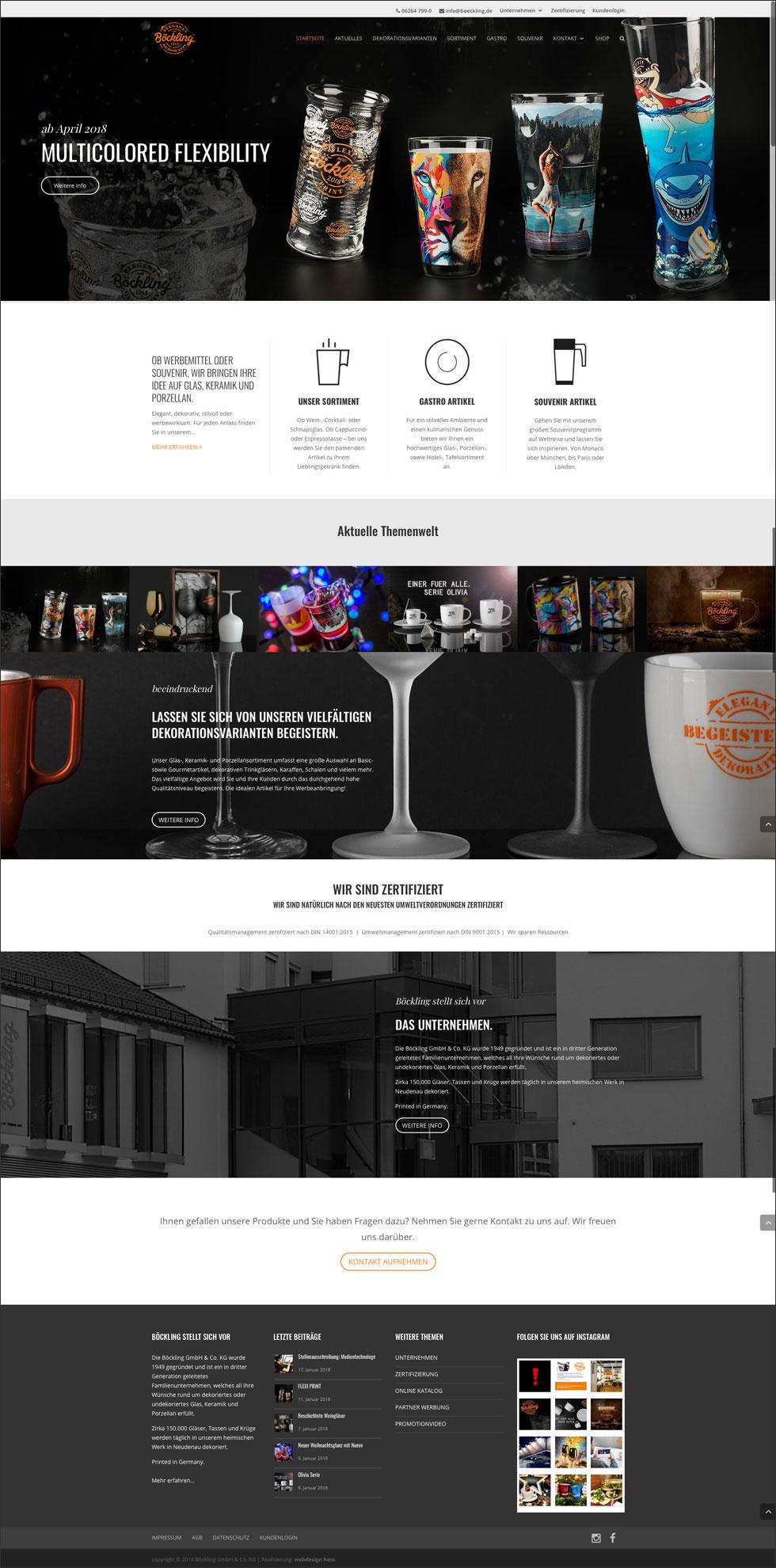 Boeckling_de Webseite