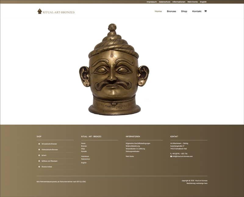 online-shop ritual art bronzes